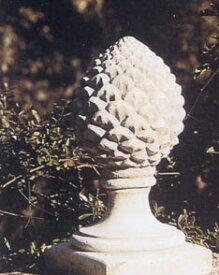 【イタリア製 石像】松ぼっくり(中)