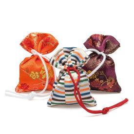 【匂い袋】京都・松栄堂の匂い袋(大きさ6cm)誰が袖-極品の香り(3個入り-ケース入り)松栄堂 香り袋 室内香 お香 におい袋 匂袋