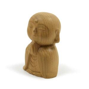 【お守り仏像】楽 -たのし- お地蔵さま木製・香木製日本製 当店オリジナル仏像高さ6cm水子供養にもおススメのお地蔵さまお地蔵様 お地蔵様像 かわいいお地蔵さま カワイイお地蔵さま 木製