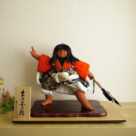 【逸品】西本左京作 出世金太郎 五月人形 5月人形 さつき人形 皐月人形 五月飾り 兜鎧飾り 鎧兜飾り 京甲冑