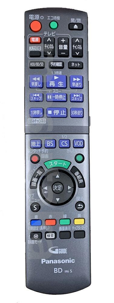 【送料無料】【常時在庫品】パナソニック(Panasonic) BD/DVDレコーダー「DIGA」 純正リモコン送信器 TZT2Q011217