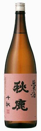 秋鹿 千秋 純米酒 1800ml【大阪府】【能勢】あきしか
