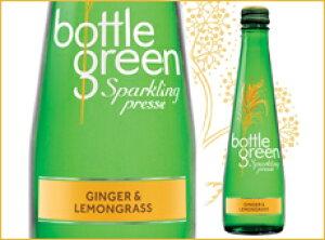 ボトルグリーン レモングラス&ジンジャー275ml×12本セット プレミアムノンアルコールジュース