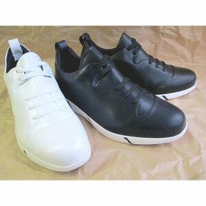 アブソリュートスリーセブン absolute777 ab-20079 スニーカー メンズ レースアップシューズ カジュアルシューズ 紳士靴 ブラック・ネイビー・ホワイト