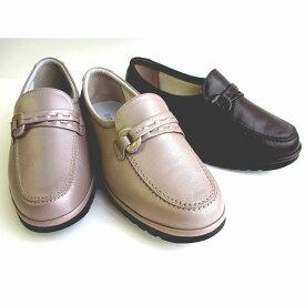 アシックス ペダラ ASICS PEDALA WP375C レディース 革靴 天然皮革 仕事履き ビジネスシューズ コーヒーブラウン シャンパンゴールド グレイシュローズ