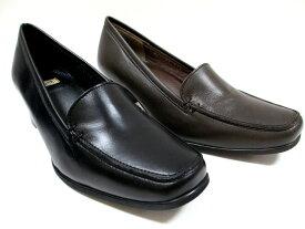 送料無料 日本製 イング ING ing 2104 レディース パンプス 革靴フォーマル スクエアトゥ 仕事靴 通勤靴 フレッシャーズ ブラック チョコ