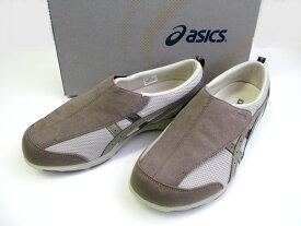 [アシックス] 【履くほどに愛着が湧く、手放せない1足になりそう。】asics ライフウォーカー FLC101 メンズ シニア世代 健康志向 介護靴 介護シューズ リハビリサポートシューズ ライトグレー×ベージュ(1364)