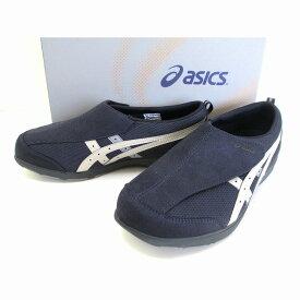 アシックス asics ライフウォーカー FLC101 シニア世代 健康志向 介護靴 介護シューズ リハビリサポートシューズ ピーコート×フェザーグレー(5812)