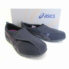 [アシックス] asics ライフウォーカー FLC307 シニア世代 健康志向 介護靴 介護シューズ リハビリサポートシューズ ピーコート×ピーコート(5858)