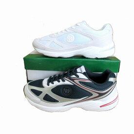 アサヒウインブルドン ASAHI WIMBLEDON 038 メンズ レディース スニーカー レースアップ 仕事靴 トラベル靴 ネイビー ホワイト/ホワイト