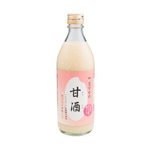 ますやみそ 瓶入り ますやの甘酒 500g 米麹 砂糖不使用 ノンアルコール ストレート 人気 米麹甘酒 玄米甘酒 玄米 腸活 美活 美容 菌活