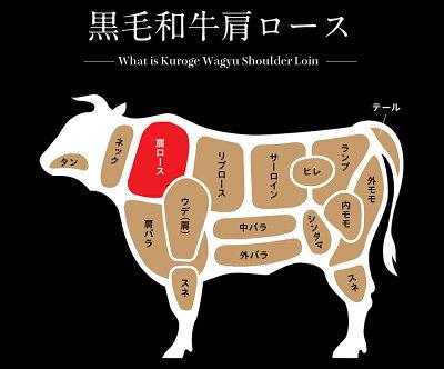 九州産黒毛和牛肩ローススライス500gクラシタ