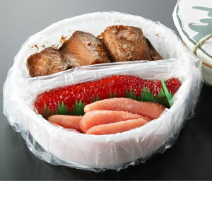 三色樽詰め840g[鮭の味噌漬(440g)筋子(200g)たら子(200g)]タル入り、ギフトにおすすめ、御中元、夏の贈り物、筋子セット、のし対応