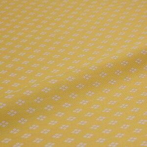 西陣織 はぎれ 大菱 黄 錦裂 正絹 金襴緞子 半巾30cm 和柄生地 布地 端切れ カットクロス 和布 和風生地 和生地 長さ10cm単位