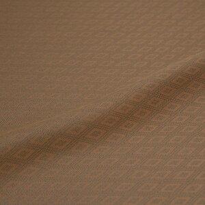 西陣織 三重襷 菱 茶 錦裂 正絹 シルク 半巾30cm 和柄生地 布地 御朱印帳 カットクロス 和布 和風生地 和生地 長さ10cm単位