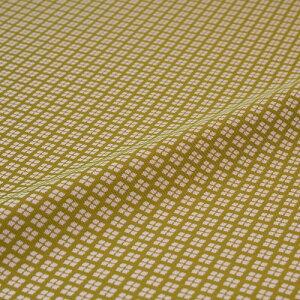西陣織 はぎれ 小菱詰 緑 錦裂 正絹 シルク化繊混紡 シルク 巾60cm 御朱印帳 布地 端切れ カットクロス 和布 和風生地 和生地 長さ10cm単位