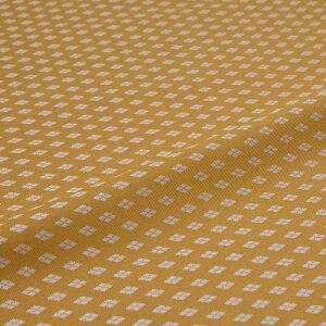 西陣織 はぎれ 新小菱 黄 錦裂 正絹 シルク化繊混紡 シルク 巾60cm 御朱印帳 布地 端切れ カットクロス 和布 和風生地 和生地 長さ10cm単位