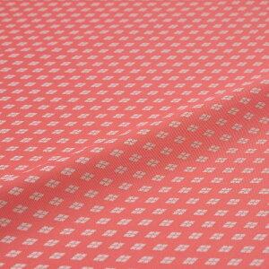 西陣織 はぎれ 新小菱 ピンク 錦裂 正絹 シルク化繊混紡 シルク 巾60cm 御朱印帳 布地 端切れ カットクロス 和布 和風生地 和生地 長さ10cm単位
