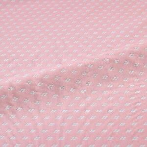 武田菱 ピンク 西陣織 正絹 シルク 化繊混紡 巾30cm 長さ10cm単位 和風小物 布地 はぎれ 端切れ カットクロス 和布 御朱印帳 カバー