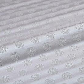 鳳凰 木瓜 有職文様 ピンク 西陣織 正絹 シルク 巾30cm 長さ10cm単位 和柄生地 布地 はぎれ 端切れ カットクロス 和布 和風生地 和生地