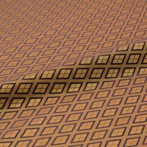 三線菱 紫 西陣織 正絹 シルク 巾30cm 長さ10cm単位 和風小物 布地 はぎれ 端切れ カットクロス 和布 御朱印帳 カバー