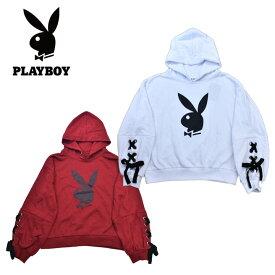 Playboyプレイボーイ スウェット・パーカー(Mサイズ)レディース