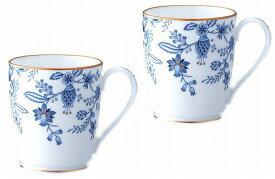 ノリタケ<Noritake>ブルーソレンティーノ マグカップ ペアセットプレゼント ギフト 贈リ物 祝 お祝い 記念品 食器 セット 可愛い 引き出物 引出物 内祝い お返し 出産内祝い 快気祝い