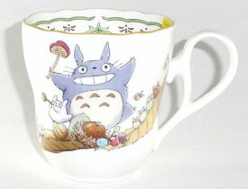 ノリタケ<Noritake>かわいいトトロ(トトロときのこ)マグカップ(4924-3)プレゼント ギフト 贈リ物 祝 お祝い 記念品 食器 セット 可愛い 引き出物 引出物 内祝い お返し 出産内祝い 快気祝い