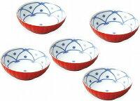たち吉朱音中皿5枚揃プレゼントギフト贈リ物祝お祝い記念品食器セット可愛い引き出物引出物内祝いお返し出産内祝い快気祝い