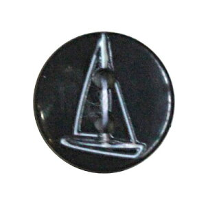 ヴィンテージボタン ハンドメイド材料 フランス買付けbk277 ネイビー 二つ穴 直径約12mm ボタン ハンドメイド材料 アンティーク アンティークボタン ハンドメイド材料 手芸 初心者 ハンドメイ