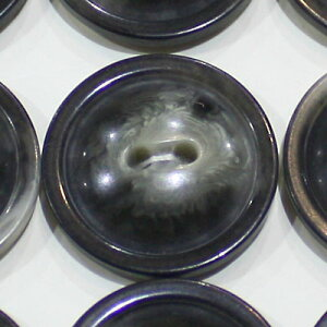 ヴィンテージボタン ハンドメイド材料 フランス買付けbk480 グレー 二つ穴 ボタン ハンドメイド材料 アンティーク アンティークボタン ハンドメイド材料 手芸 初心者 ハンドメイド クラフト