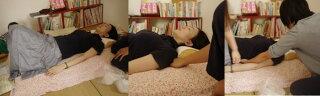 快眠枕M(身長約145〜165cm用)【翌日出荷】睡眠中に整える首の湾曲・背骨のS字ライン・骨盤枕★内容物を増減して、貴方の首に合った枕を作り、肩コリ、頭痛、不眠、浅い眠りを改善!同時に骨盤ケア、腰痛対策、骨盤矯正も【楽ギフ_包装選択】