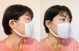 シルク マスク 布マスク 布 布製 ナイトマスク 外出 耳 生地 紐 正絹100% 生成 フリーサイズ 大人用 アトピー 喘息 洗濯可 エコ リユースライブコットン [M便 1/2]