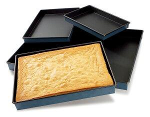 【30%OFF】【MATFER】 EXOPAN®ロールケーキ型(長方形)L400mm×W300mm×H35mm【11,000円(税込)以上で送料無料になります】