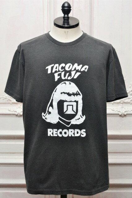 "TACOMA FUJI RECORDS タコマフジレコード "" TACOMA FUJI RECORDS LOGO '19 "" ショートスリーブプリントTee  col.BLACK"