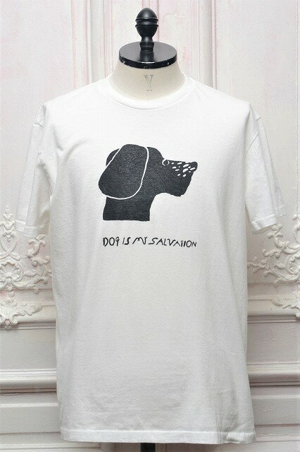 "TACOMA FUJI RECORDS タコマフジレコード "" Dog Is My Salvation - by Yachiyo "" ショートスリーブプリントTee  col.WHITE"