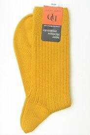 """DORE DORE ドレドレ """" Knit Rib Socks """" リブ編みニットソックス col.MOSTARDA"""
