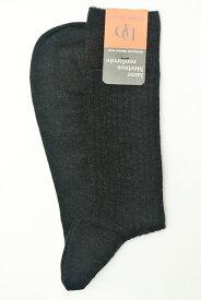 """DORE DORE ドレドレ """" Knit Rib Socks """" リブ編みニットソックス col.ANTHRACITE"""