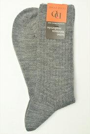 """DORE DORE ドレドレ """" Knit Rib Socks """" リブ編みニットソックス col.OXFORD"""