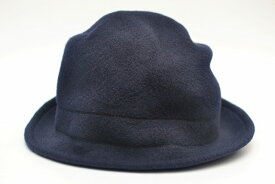 "SCHA シャー ""Soft Traveller - wool hat"" ウールハット ソフトトラベラー  col.dark blue"