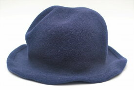 """SCHA シャー """"Derby + wool hat with a pliable wire"""" ウールハット ワイヤー col.blue"""