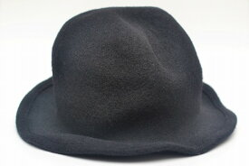 """SCHA シャー """"Derby + wool hat with a pliable wire"""" ウールハット ワイヤー col.black"""