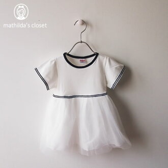 The of superior grade that dress kids baby baby dress summer clothing children's clothes wrapper Tulle dress white white shows cute