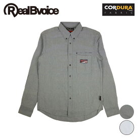 【セール】リアルビーボイス RealBvoice メンズ ロングスリーブシャツ 日本製 MADE IN JAPAN CORDURA LONG SLEEVE SHIRT