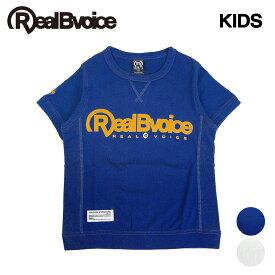 セール リアルビーボイス RealBvoice キッズ ジュニアサイズ 半袖 リブ付きTシャツ HEAVY WEIGHT RBV KIDS RIB T-SHIRT