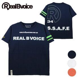 【セール】リアルビーボイス RealBvoice メンズ 半袖 Tシャツ WATERMAN SPIRIT TYPE B T-SHIRT