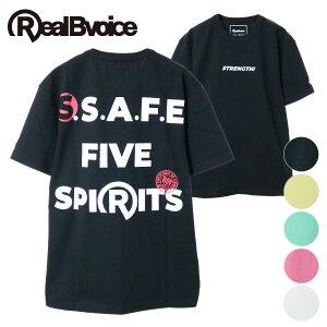 【20%OFF】リアルビーボイス RealBvoice メンズ 半袖 Tシャツ バインダーネック S.S.A.F.E VARIATION T-SHIRT