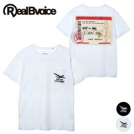 リアルビーボイス RealBvoice RBV AIR TICKET POCKET T-SHIRT