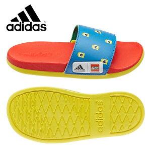 adidas アディダス ADILETTE CF K アディレッタ スポーツサンダル LEGOコラボ ジュニア 子供靴
