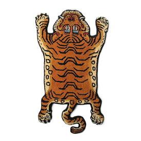 """【送料無料】【TS】 チベタン タイガー ラグ """"DTTR-01 / LARGE""""【新品】Tibetan Tiger Rug L カジュアル インテリア おしゃれ 雑貨 虎 トラ チベット 絨毯 玄関 リビング マット 手作業"""